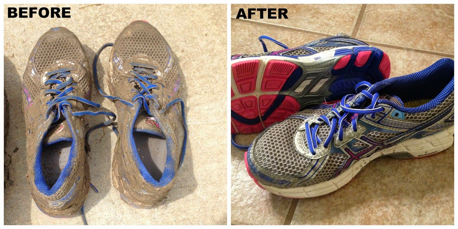 How to Clean Your Shoes After a Mud Run So They Look Like