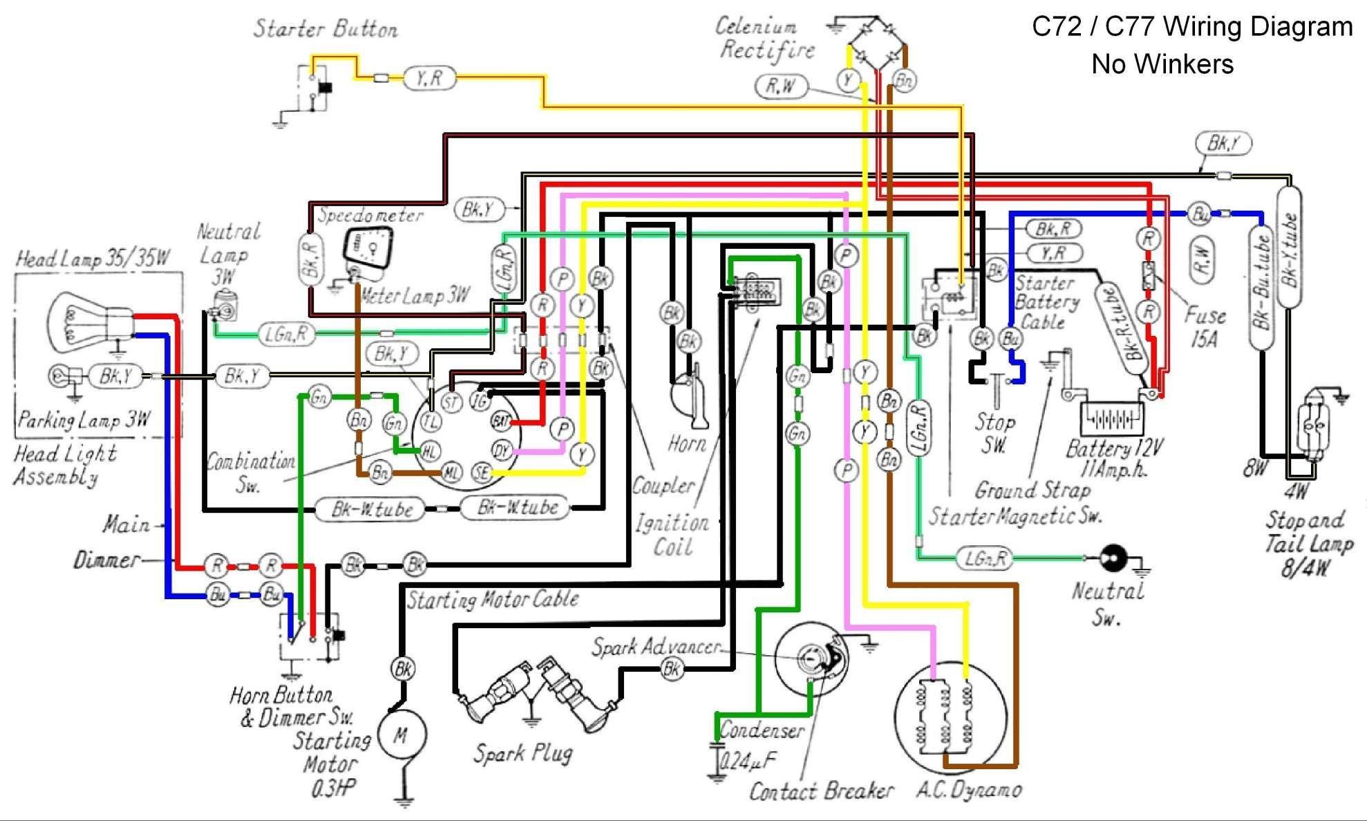 15  Simple Honda C90 6v Motorcycle Wiring Diagram