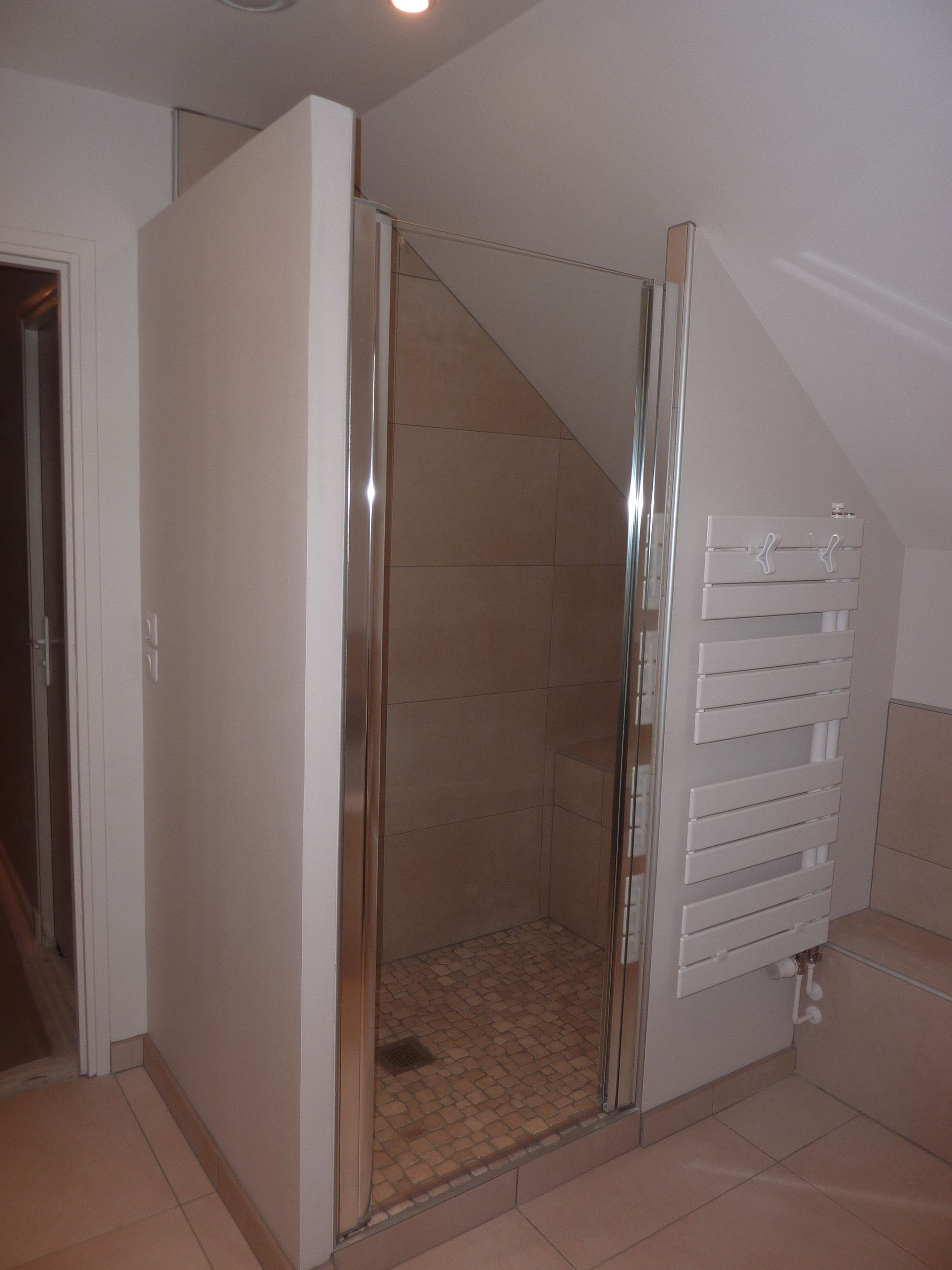 douche - porte serviette - rebord | future salle de bains ...
