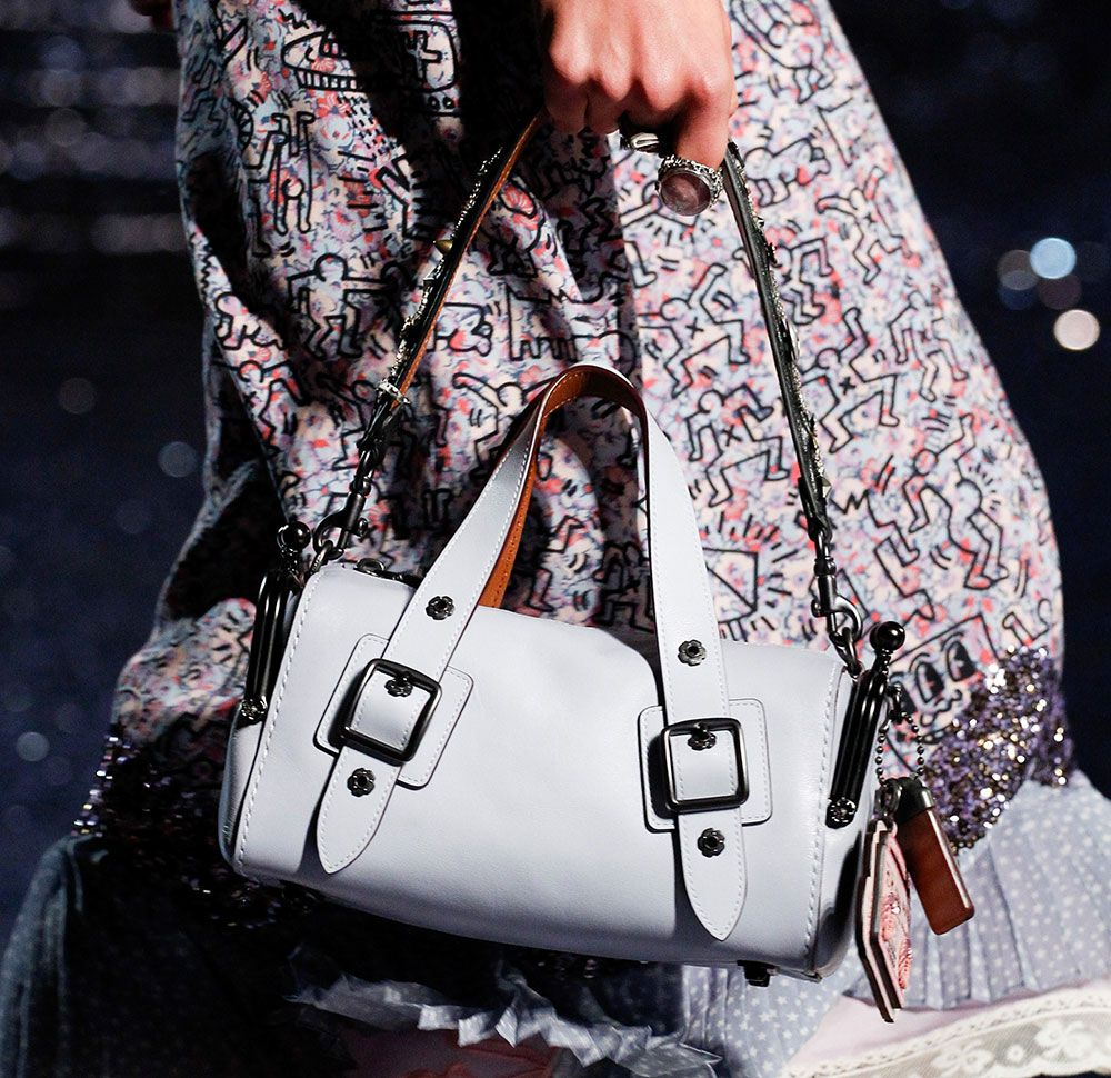 3047d6c2a758 Coach s Spring 2018 Runway Bags Pay Tribute to Artist and AIDS Activist  Keith Haring