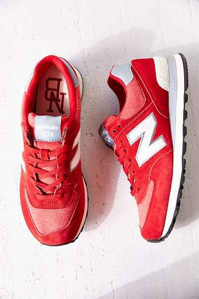 new balance ml574 rosse