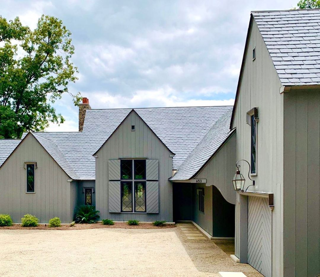 Mcalpine On Instagram One Of Our Houses Will Be Featured In The North Augusta Christmas Tour Of Homes House In The Woods Architecture Exterior Hamptons House