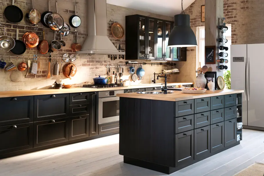 Cuisine Industrielle Ikea Recherche Google Keuken Ontwerp Keuken Interieur Keuken Idee