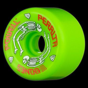 5fb6c43f738 Powell Peralta G-Bones 64mm 97a - Green (4 pack)