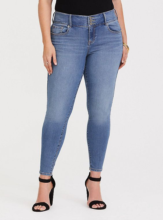 04c12453b95f15 Mid-Rise SPRSKNY Jeggings in Light Colored Jeggings, Plus Size Jeans,  Stretch Denim