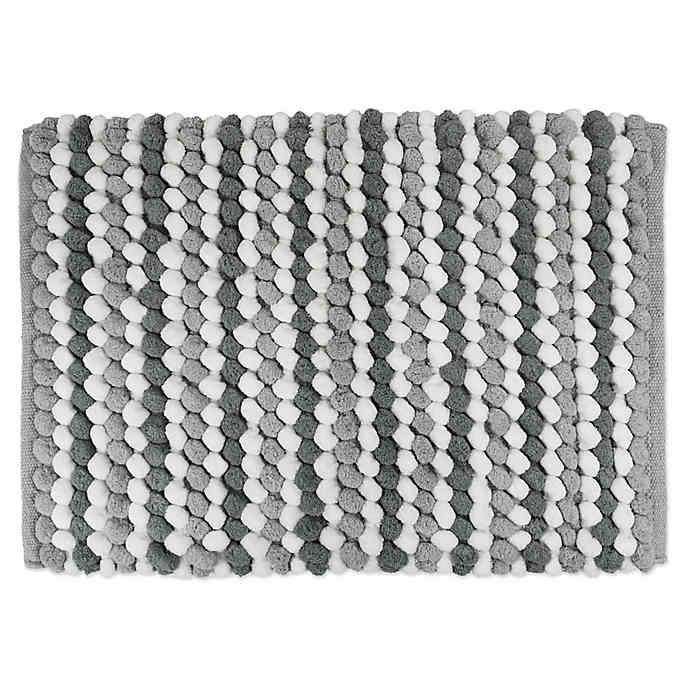 Design Imports Chunky Striped Bath Mat | Striped bath mats