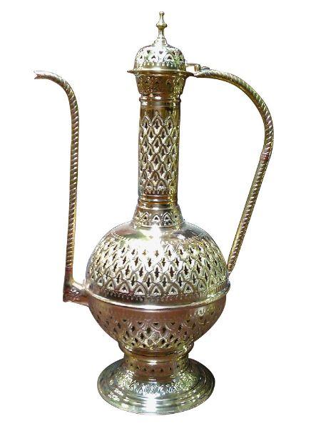 Teapot Shape Brass Floor Lamp Brass Floor Lamp Floor Lamp