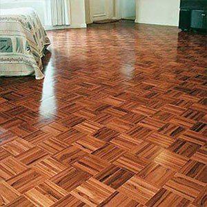 lantai kayu mozaik jati terpasang Lantai kayu, Kayu