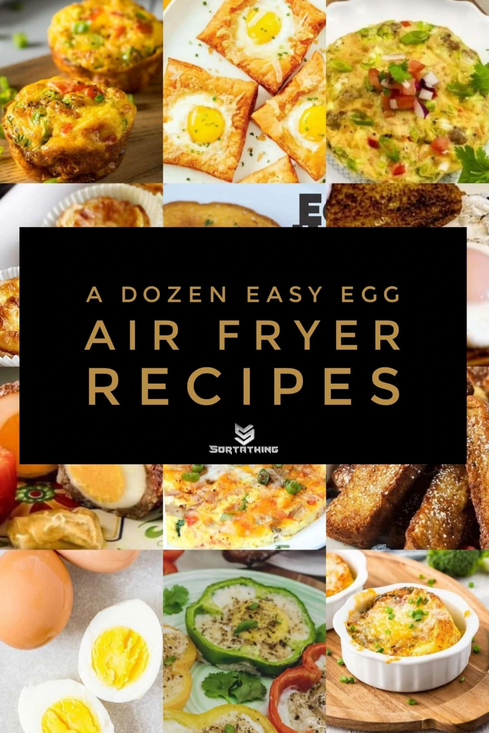 A Dozen Easy Egg Air Fryer Recipes 12 Best Air Fried