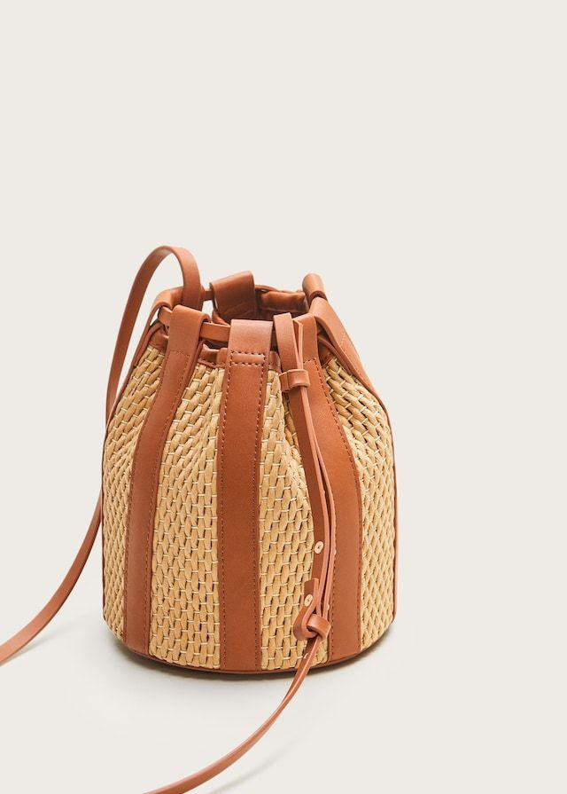 Bolso saco paja – Tallas grandes
