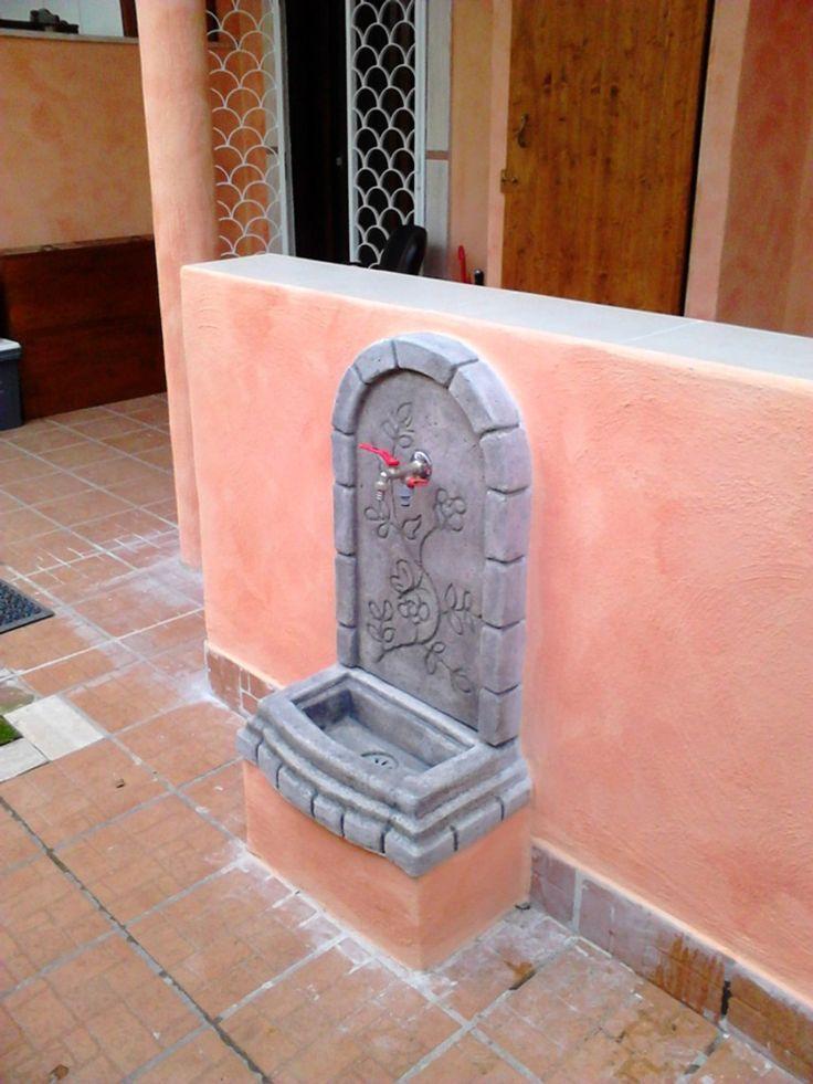 Fontana murale in Pietra Ricostruita, mod  Perugia, colore antichizzato  Local      antichizzato colore fontana Local Mod murale perugia pietra ricostruita is part of Garden fountains -