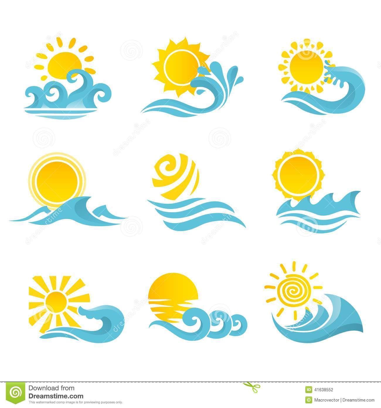 sun wave art Google Search Sun art, Surfboard painting