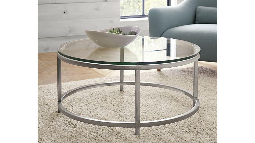 Era Round Glass Coffee Table Interieur