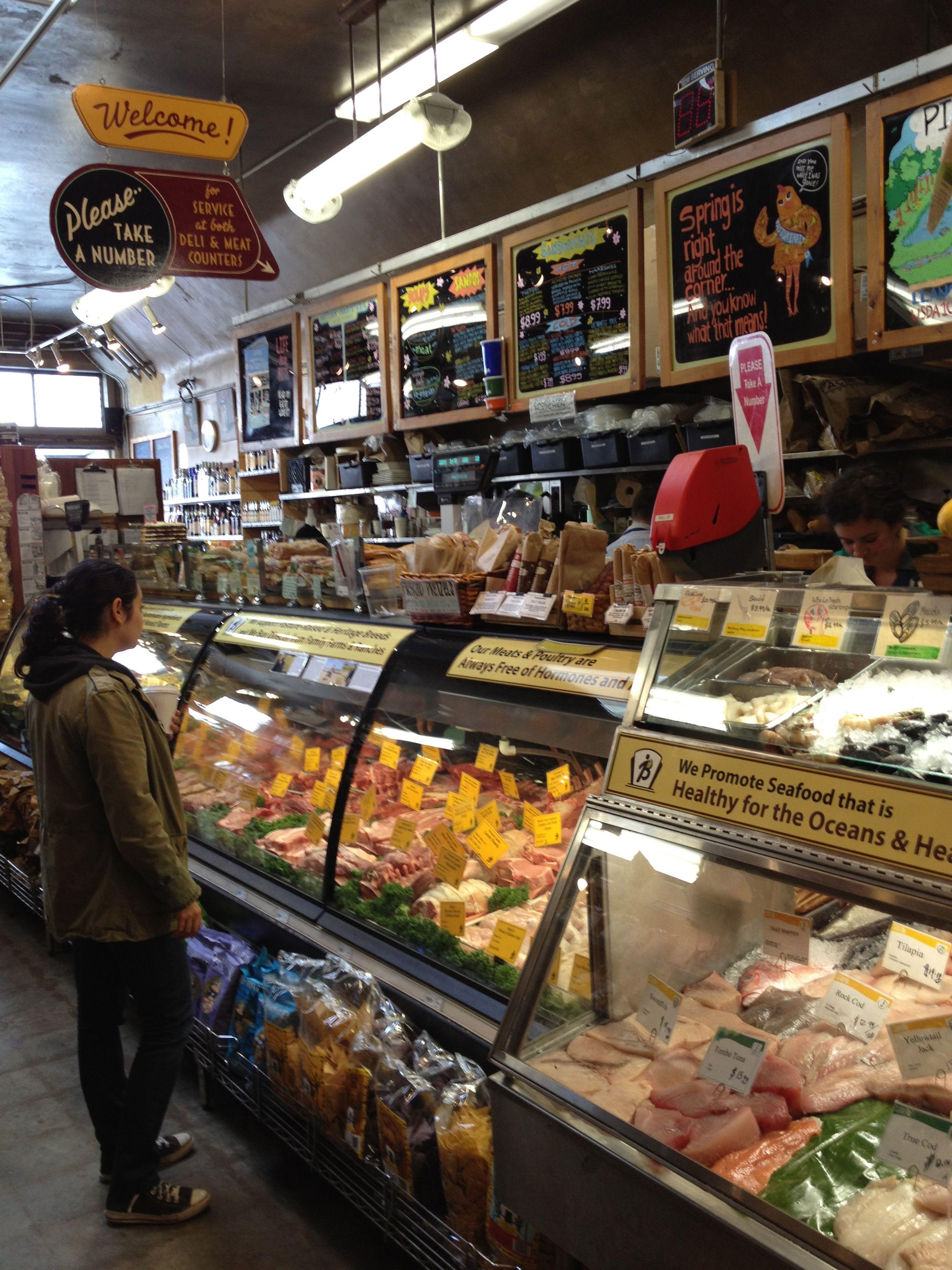Bi Rite Market Sf Signage And Feel San Francisco Food Picnic Food Market Shopping