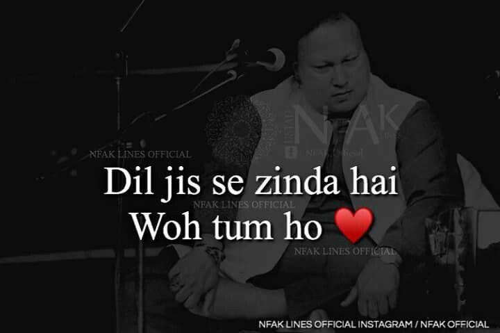 Pin By Hadi Jafri On Nusrat Fateh Ali Khan Nfak Lines Nusrat Fateh Ali Khan Love Poetry Urdu