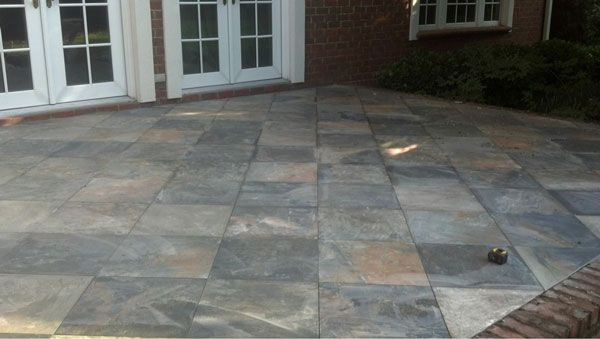 Perfect Slate Tiles For Patio. Slate Tiles Patio On Amortech