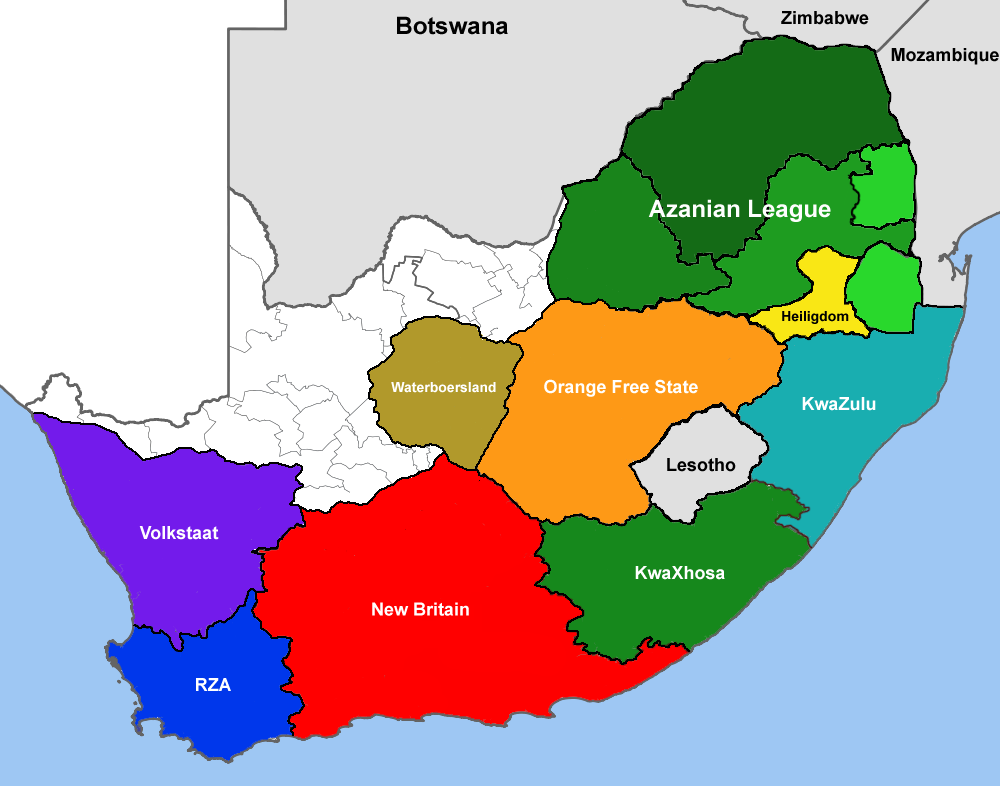 Image Result For Xhosa Map Free State Xhosa New Britain