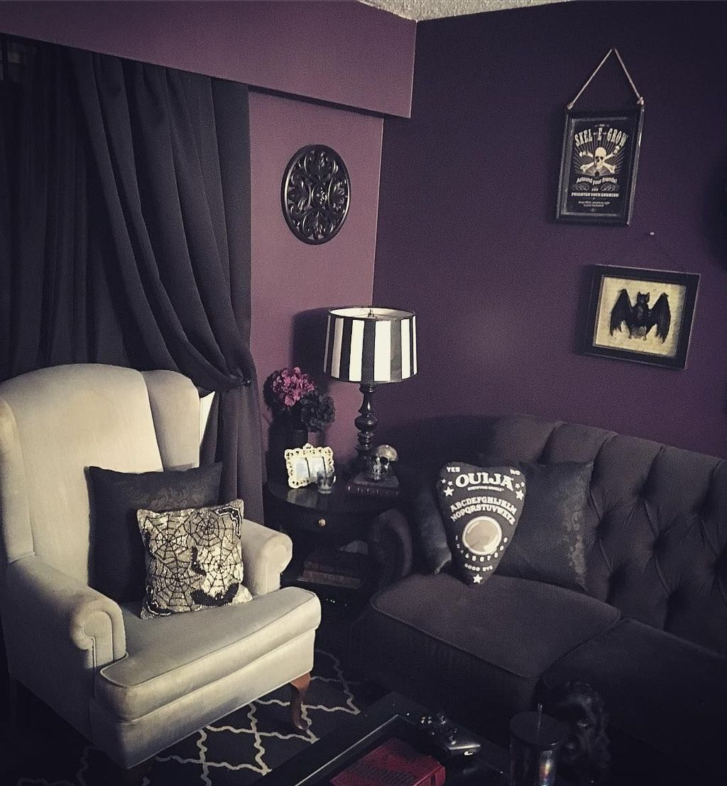 Top 30 Masculine Bedroom Part 2: 30+ Astonishing Gothic Home Office Decor Ideas #gothichome