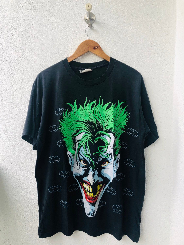 Batman T-Shirt Joker Hahaha Black Tee