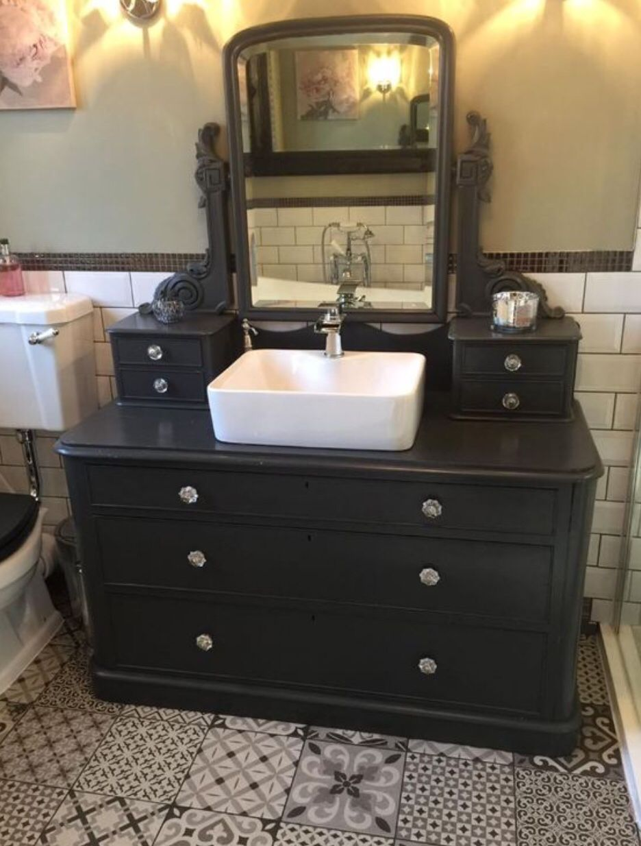 Pin By Lucy Rigby On Milk Chalk Mineral Paint Bathroom Sink