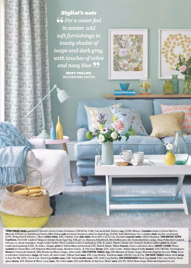 Pin On A Mood Board Living room ideas duck egg