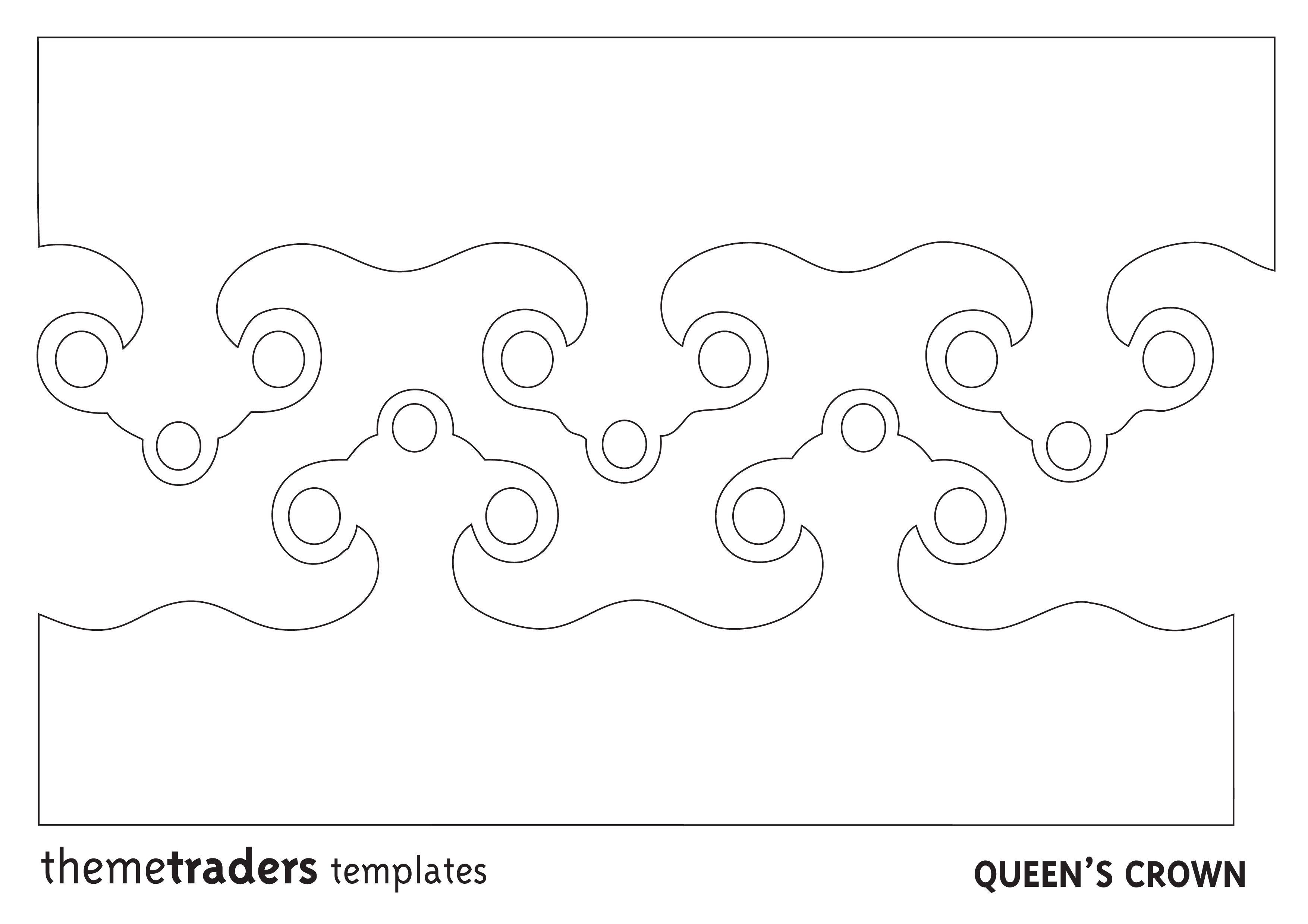Princess Cupcake Crown Toppers Printables