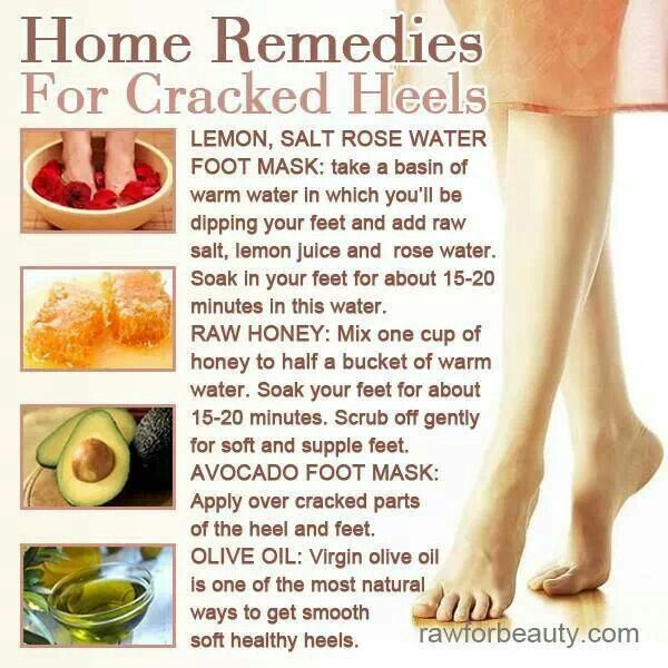 foot care home remedies