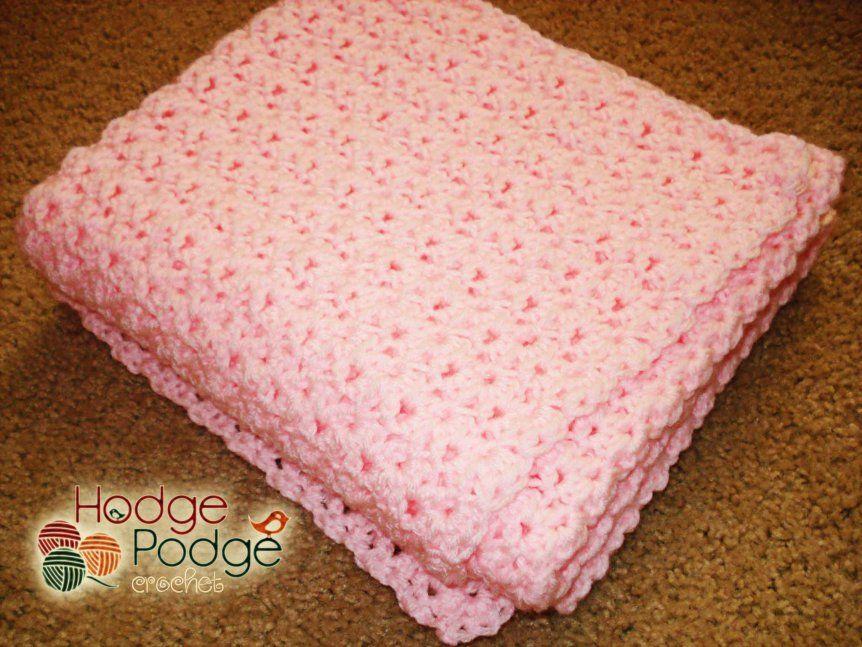 Baby's Best Bumpy Blanket   HodgePodge Crochet