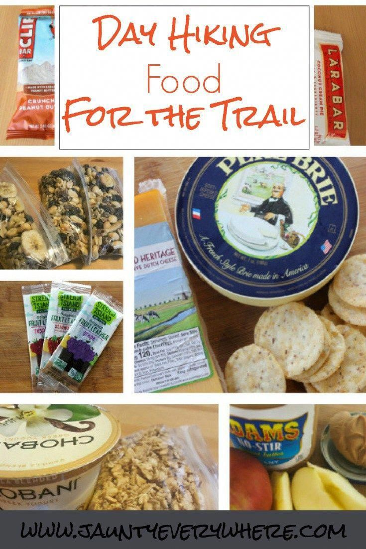 Day hiking food for the trail hiking food backpacking
