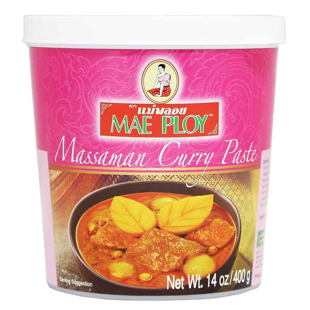 Mae Ploy Massaman Curry Paste 14 Oz Massaman Curry