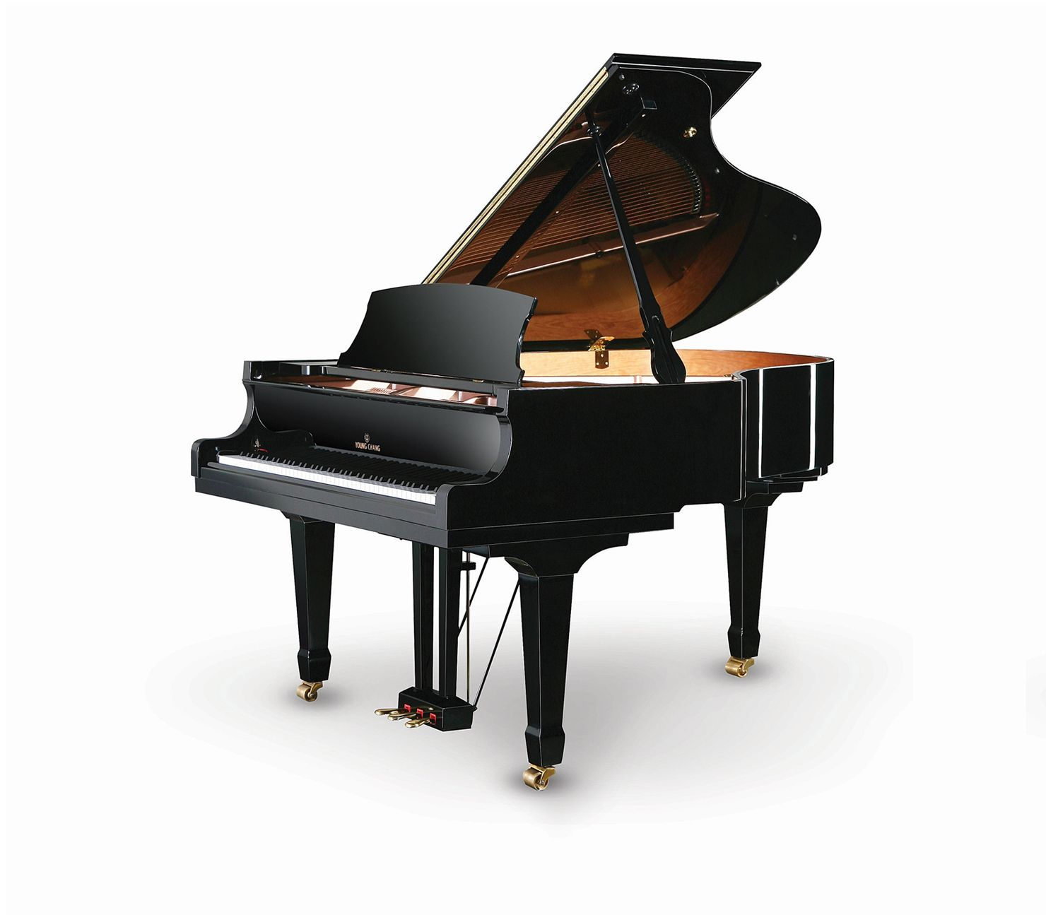 Young Chang Piano America Y 185 French Art Baby Grand Pianos Piano