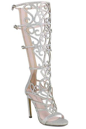 1f7dbb531e3d07 Celeste Chelsea-01 Rhinestone Sandals in Silver