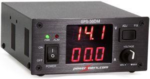 Powerwerx Variable 30 Amp Desktop Dc Power Supply With Digital Meters Power Supply Digital Power