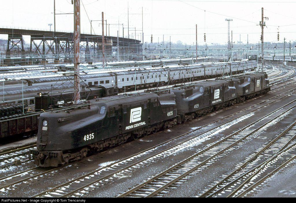 RailPictures.Net Photo: PC 4935 Penn Central GG-1 at Philadelphia, Pennsylvania by Tom Trencansky