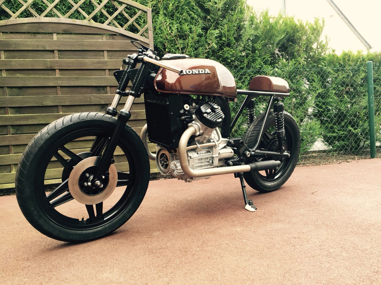 Work In Progress On My Honda Cafe Racer Caferacer Motocycle Cx400 Cx500