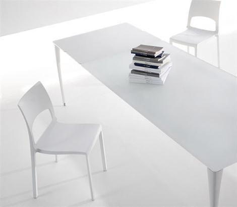 Fly Line Sedie Pieghevoli.Sol White Table By Bartoli Design For Bonaldo