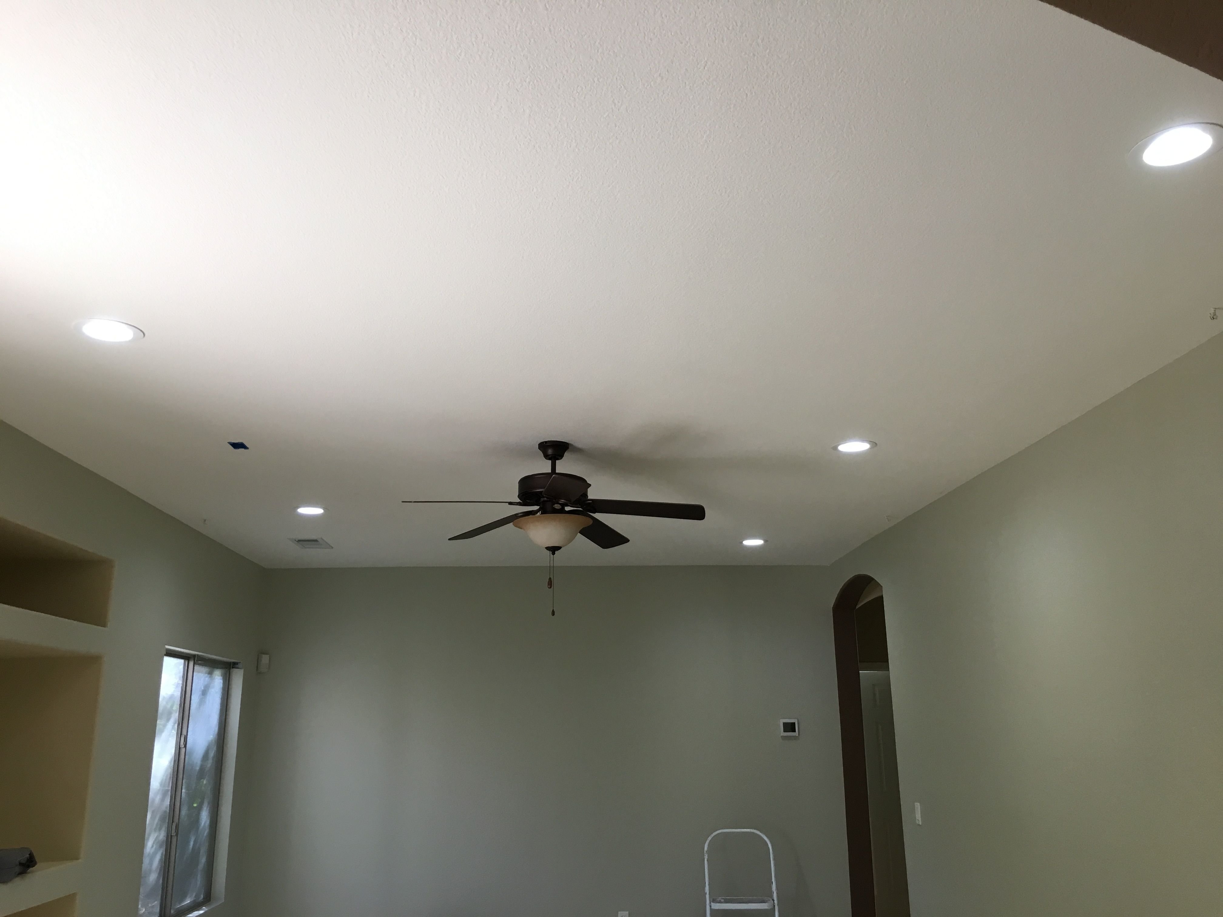 5 Led S In Family Room With A Wired Fixture Box For Future Track Lighting Recessedlighting Remodel Recessedlig Led Can Lights Recessed Lighting Can Lights