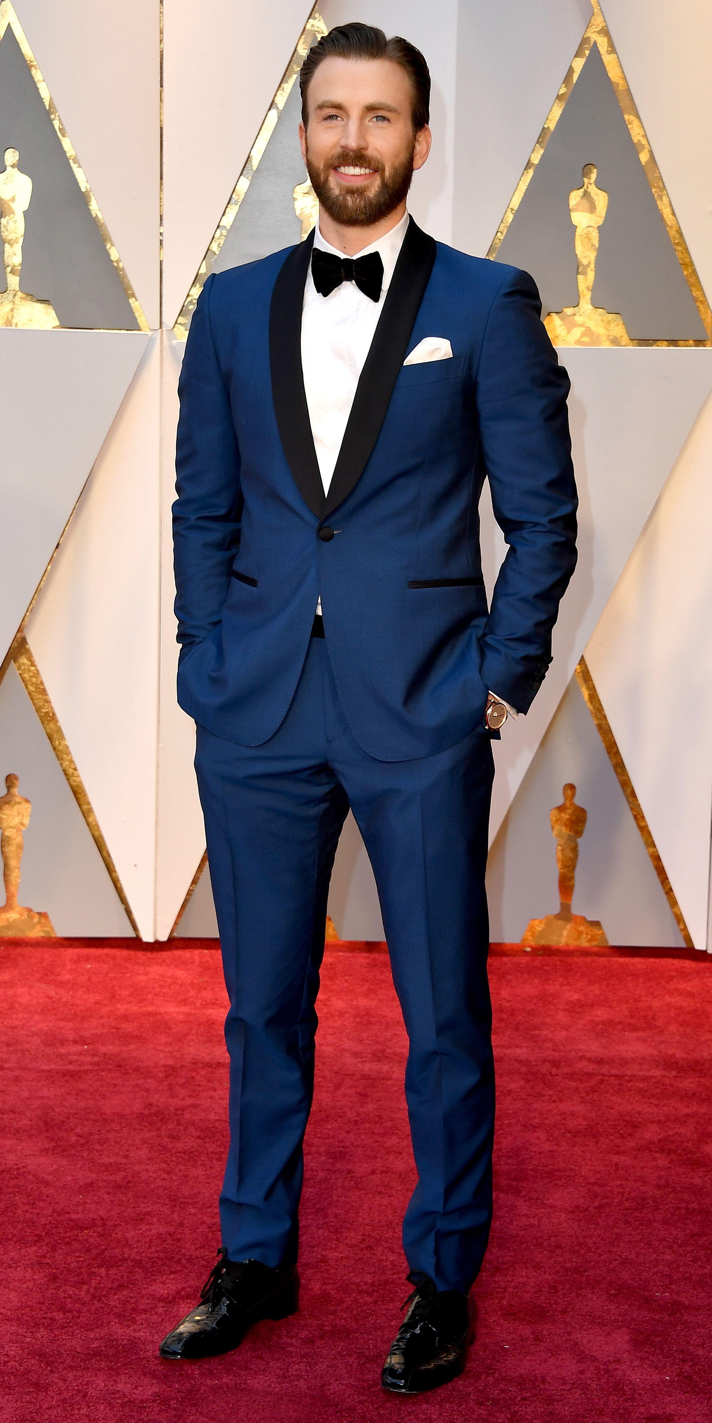 Tapis rouge des Oscars des Oscars 2017 Photos   – Chris Evans