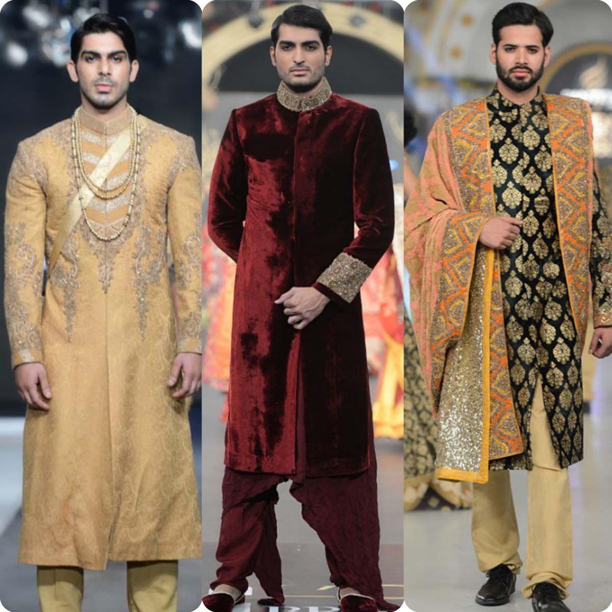 0bb60e4e63 HSY Men Wedding Wear Sherwani Designs 2016-…   What Lahore's Men ...