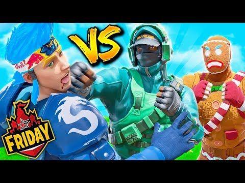 I Beat Ninja While Carrying Lazarbeam Friday Fortnite Youtube Fortnite Famous Youtubers Ninja