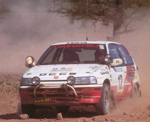 Daihatsu Charade G100s Gtti Safari 1993 Daihatsu Rally Car