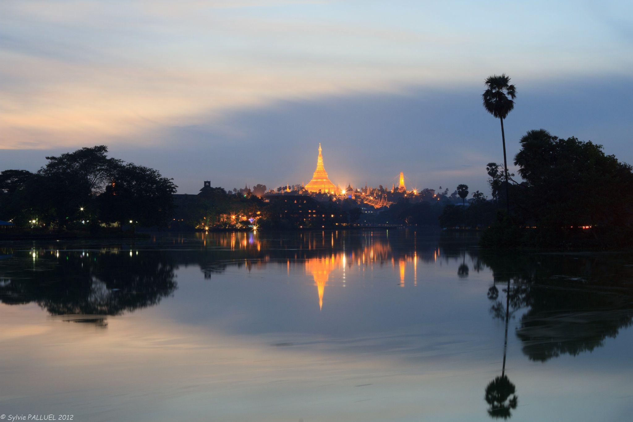 Shwedagon Pagoda In Yangon Myanmar By Sylvie Palluel On 500px