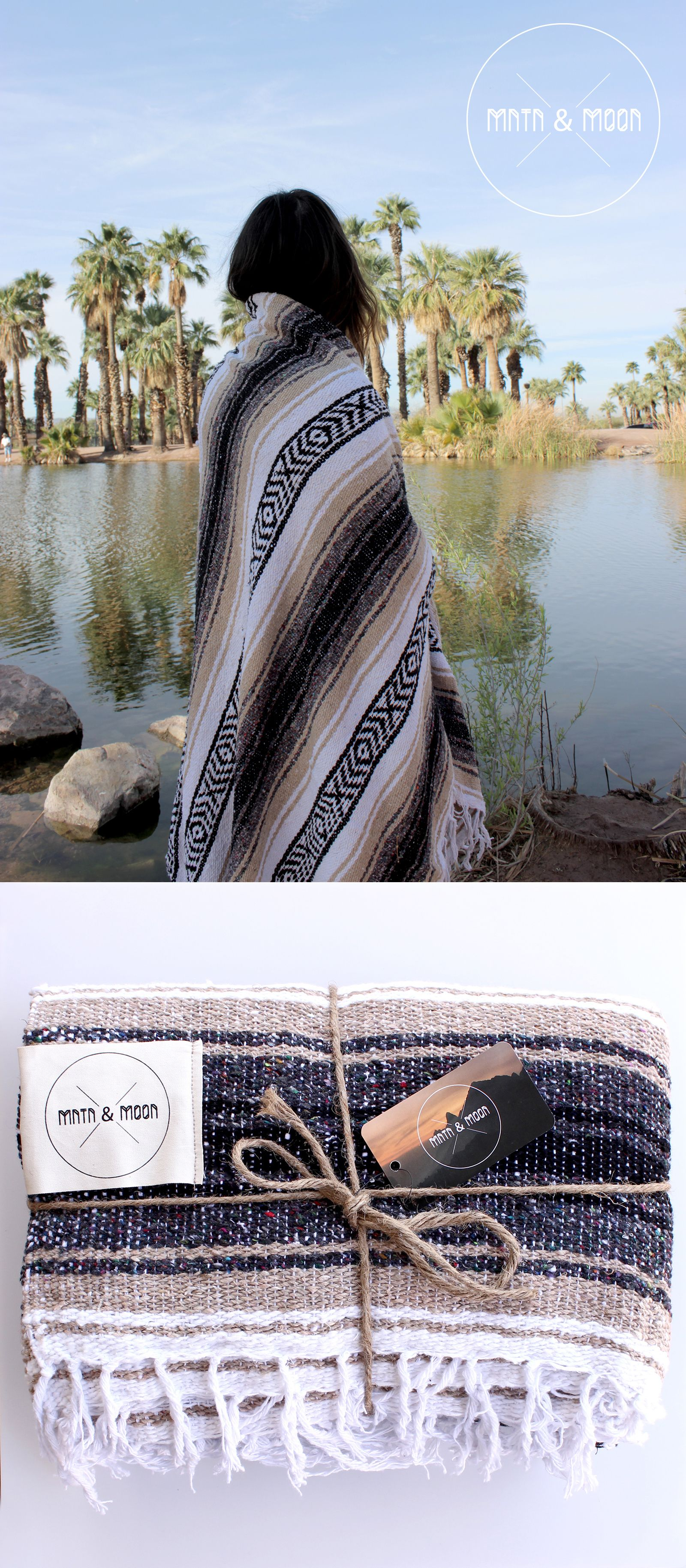 Campo Falsa Blanket By Mntn Amp Moon Authentic Handwoven