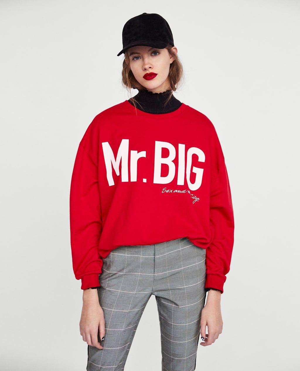 837b0bd8 mr.big sweatshirt zara ile ilgili görsel sonucu | Not a princess