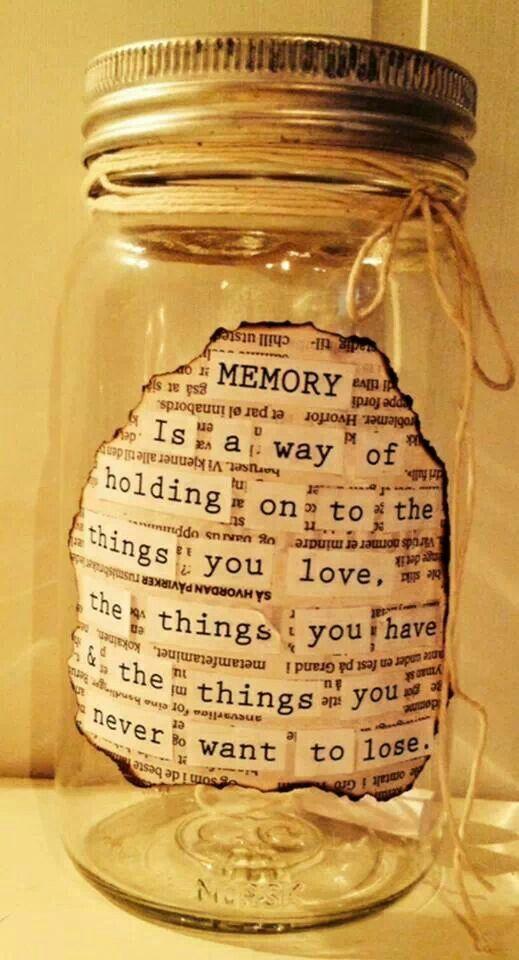 Memory Jar Quotes Quotes