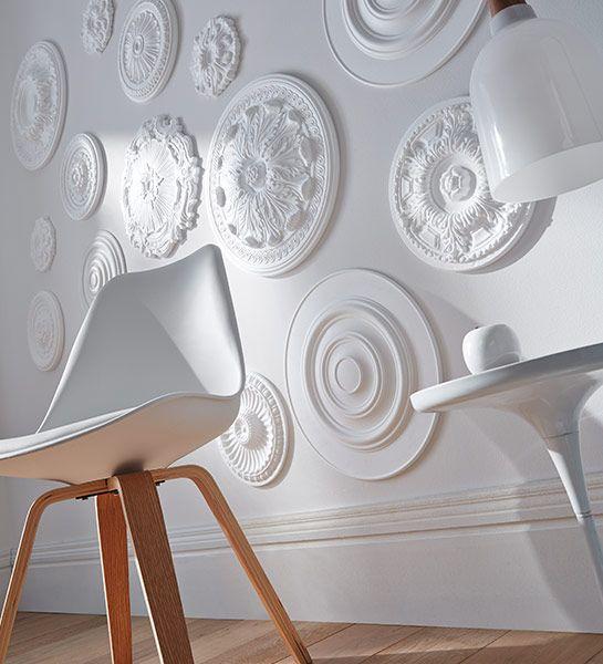 rosace d sir 28 cm 1000 et une rosaces une d coration murale tr s personnelle avec des. Black Bedroom Furniture Sets. Home Design Ideas