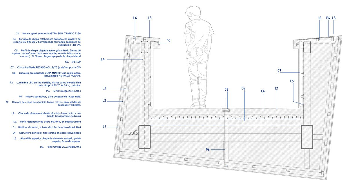 Gallery Of Innovative Pedestrian Bridges And Their Construction Details 4 Pedestrian Bridge Pedestrian Bridge