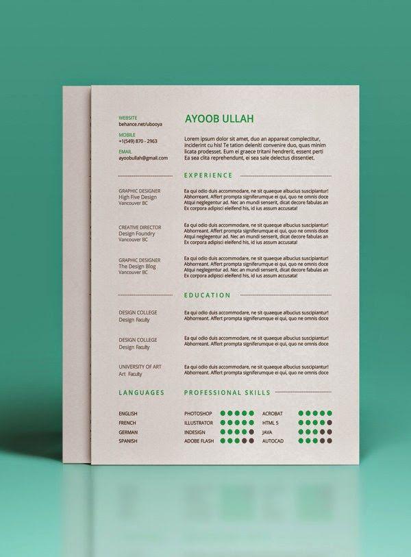 27 Contoh Resume Terbaik Lobak Hangus Resume Resume Templates