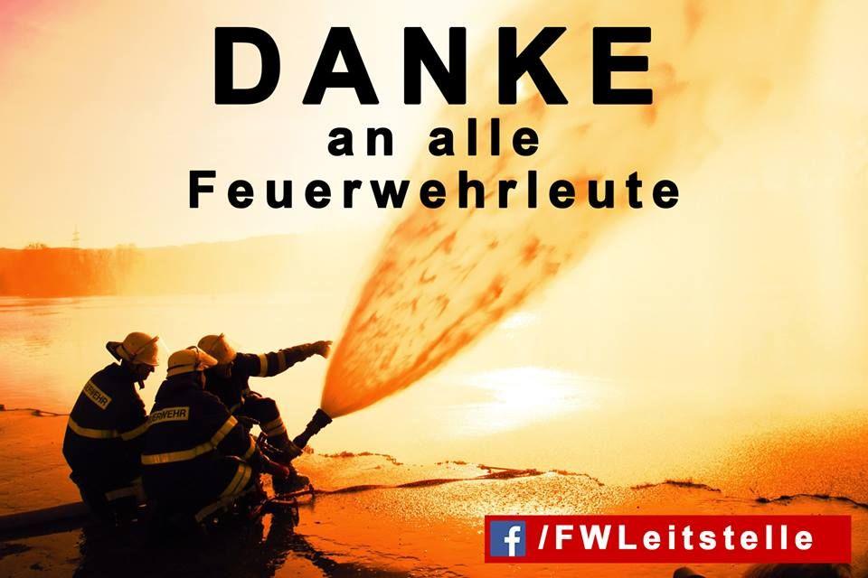 Danke An Die Feuerwehr Feuerwehr Feuerwehr Spruch Und