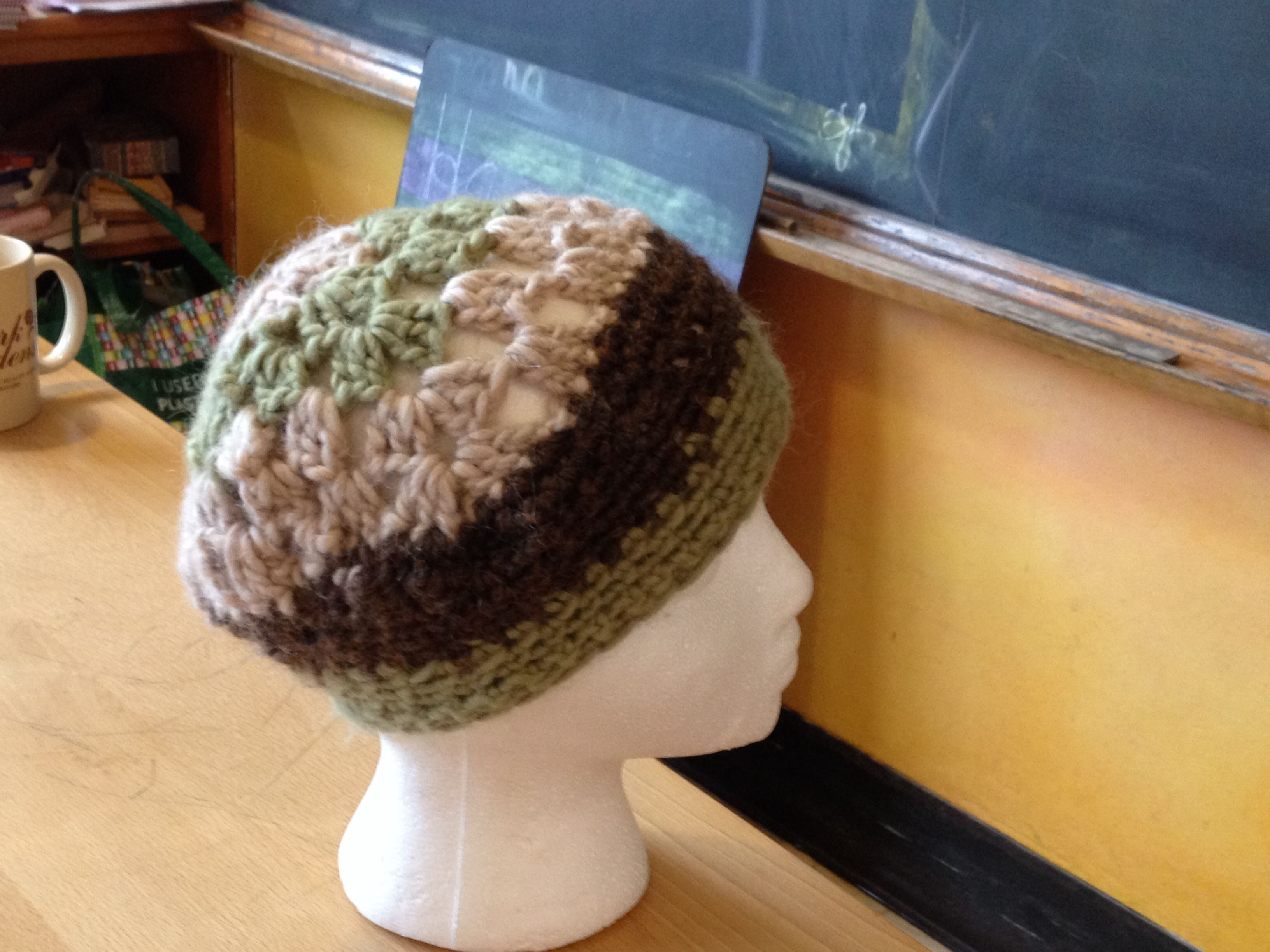 Granny square hat third grade crochet Waldorf School of Garden City ...